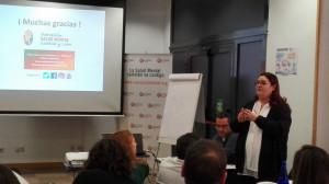 Pamela Fernández trabaja como asistente personal, después de pasar por este programa específico
