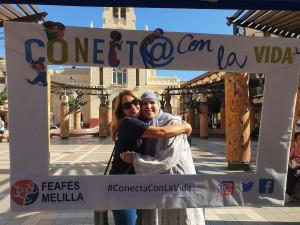 Abrazo en Melilla