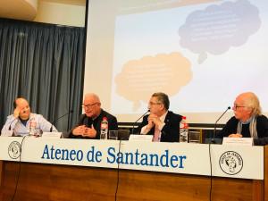 Momento de la mesa sobre derechos humanos y salud mental