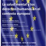 La salud mental derechos humanos contexto europeo