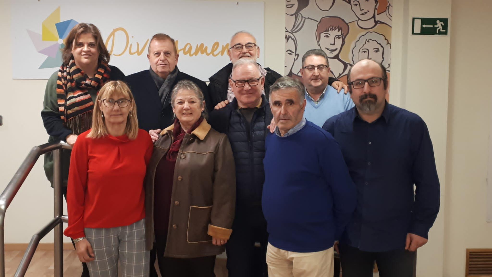 Integrantes de la nueva Comisión Permanente