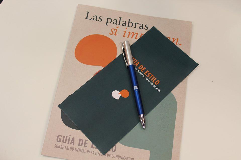 Presentación guía de estilo #ComunicaLaSaludMental