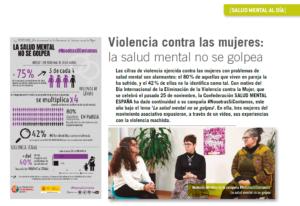 Imágenes de la campaña #NosotrasSíContamos.