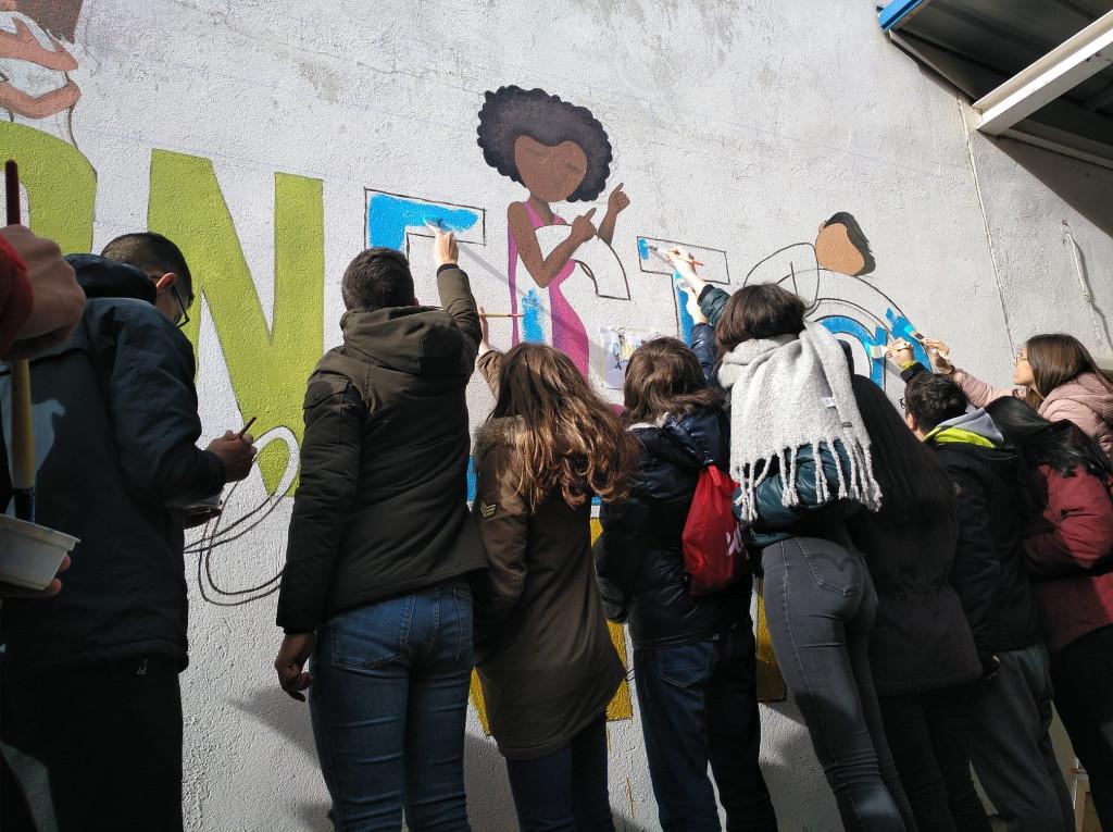 Salud Mental Valladolid Grafiti