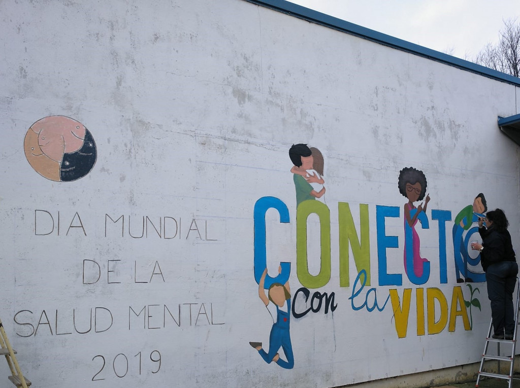 Salud Mental Valladolid Grafiti 2