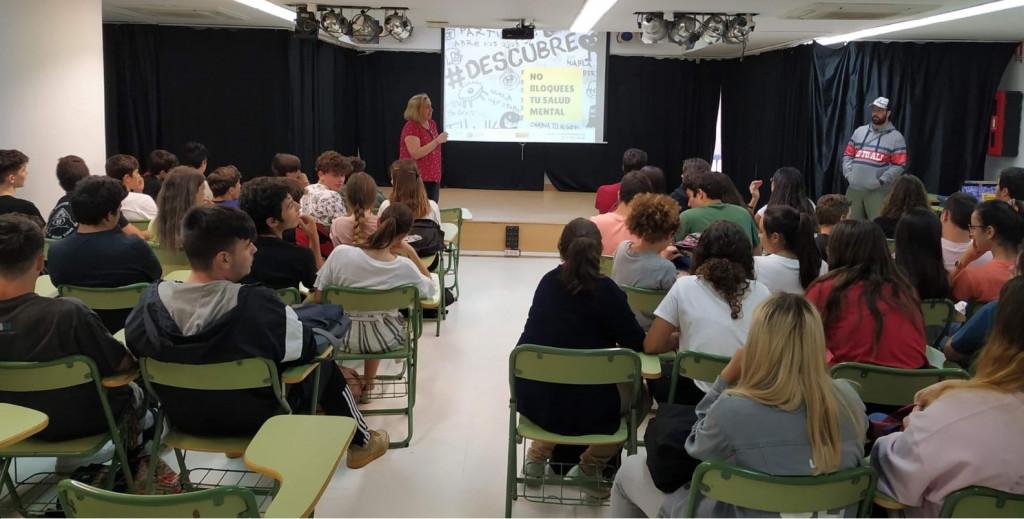 Programa Descubre en uno de los centros de la provincia de Cádiz.