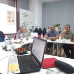 Momento reunión delegación saharaui