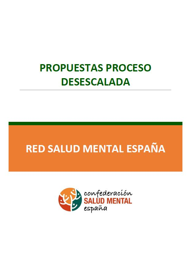 Portada Propuestas Desescalada Red Salud Mental