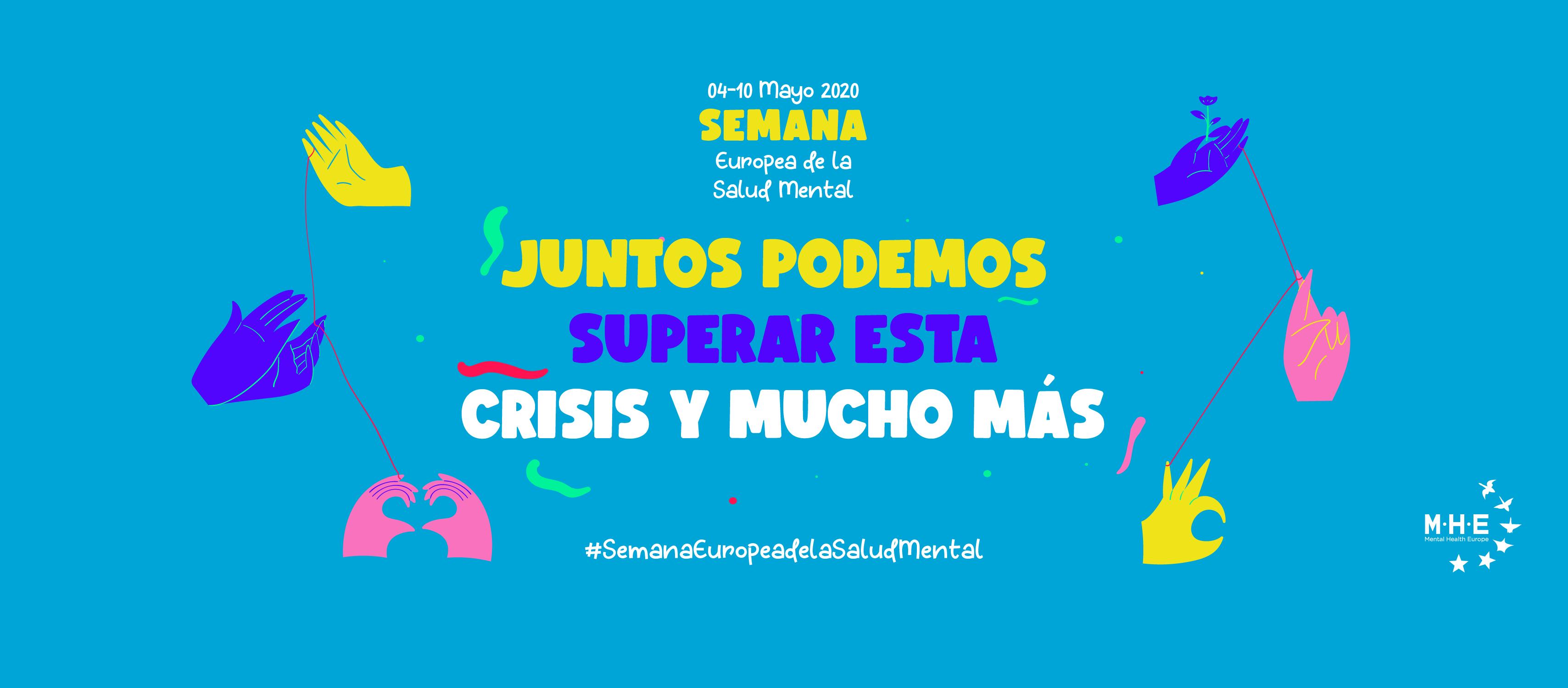 Cartel Semana Europea de la Salud Mental
