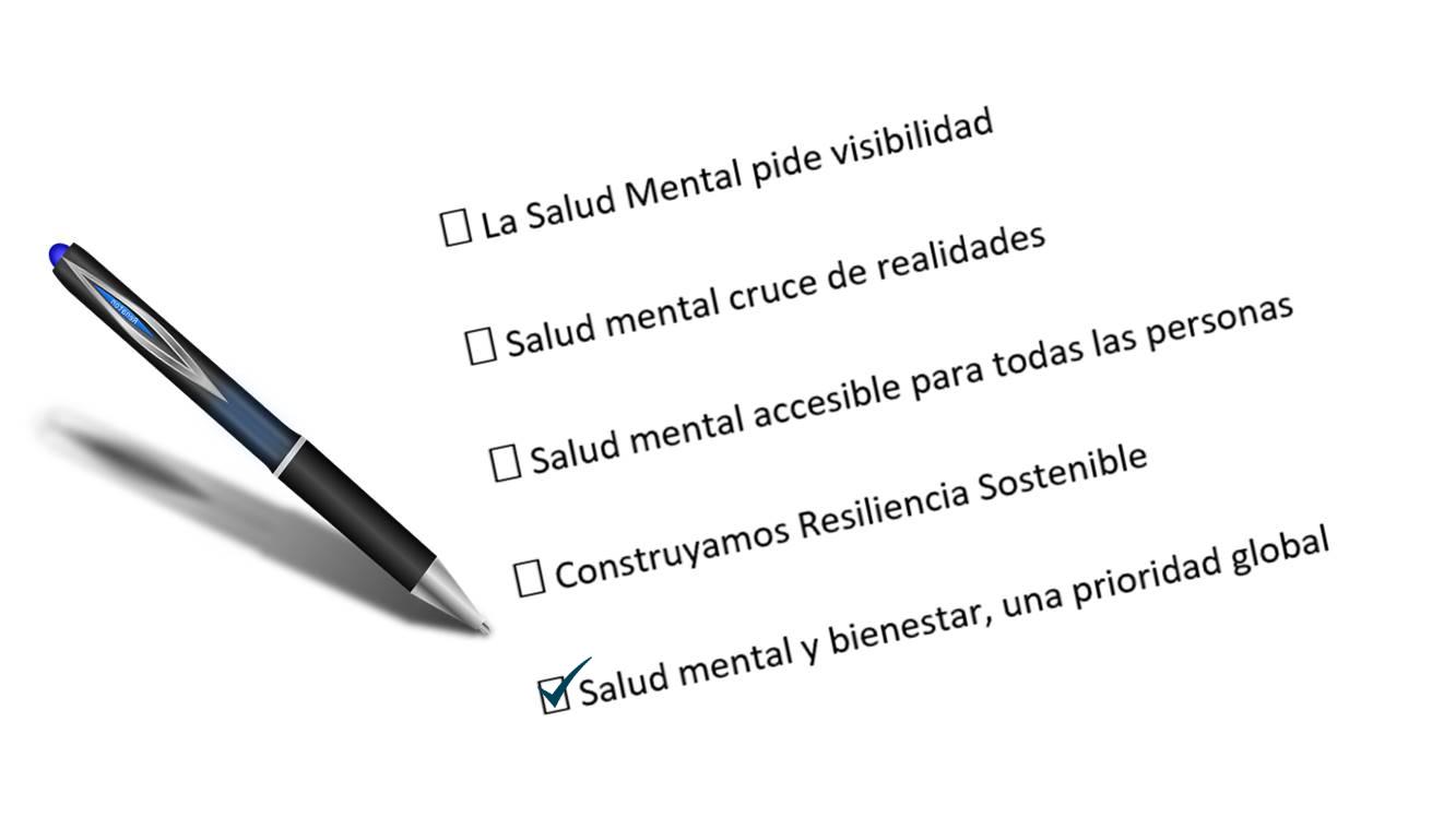 Lema Día Mundial Salud Mental 2020