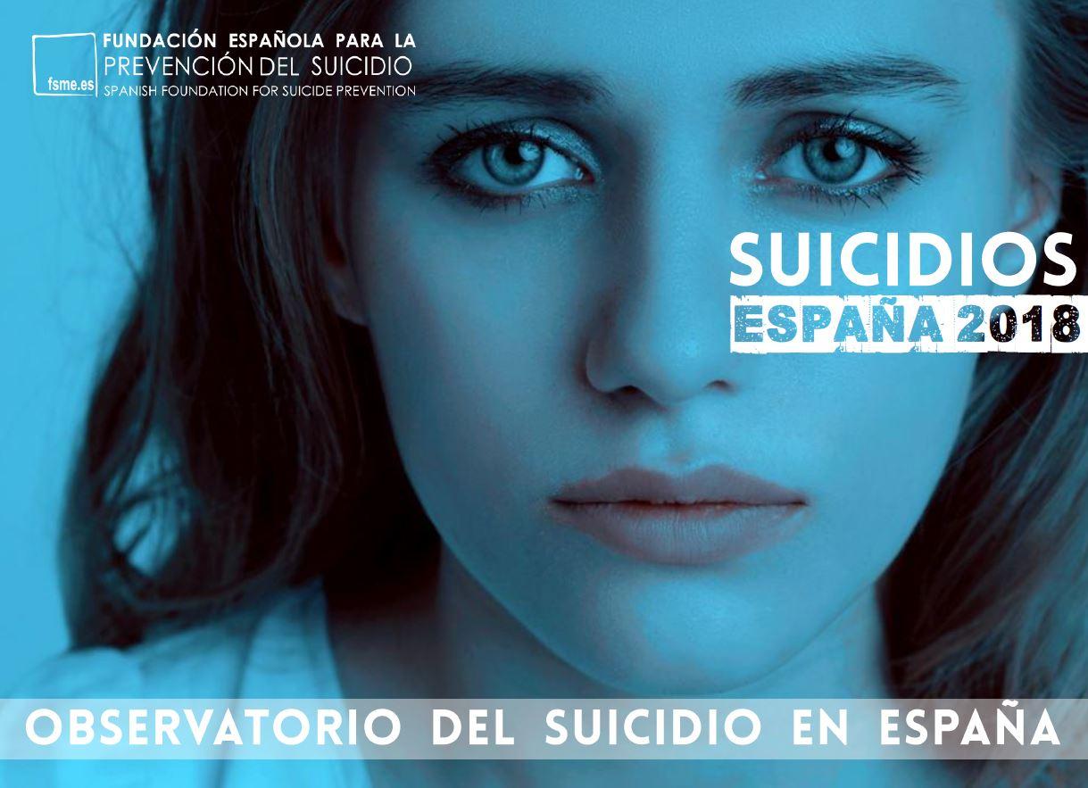 Portada Observatorio suicidio España 2018
