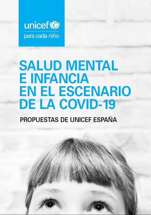 Portada Salud Mental Infancia Adolescencia covid19