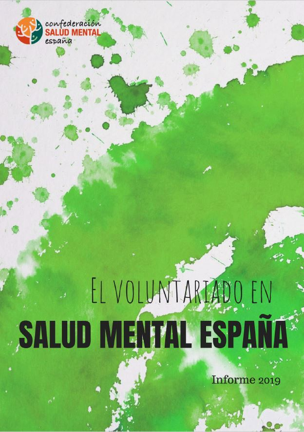 Portada Informe Voluntariado Salud Mental 2019