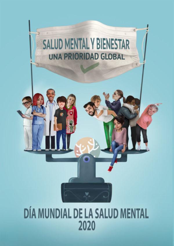 Identidad visual día mundial salud mental 2020