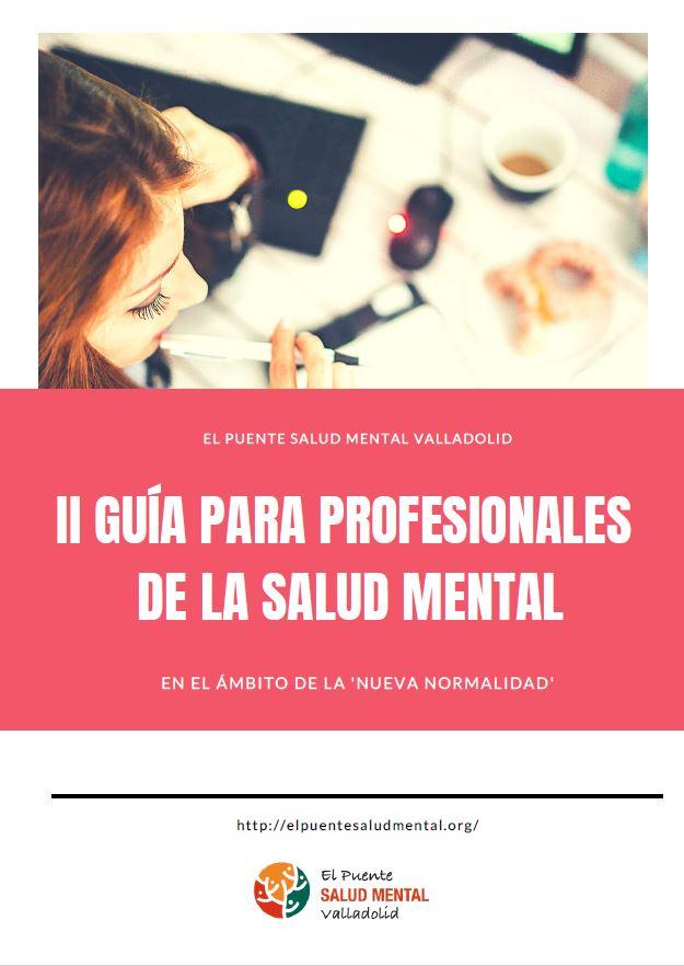 Portada Guia profesionales salud mental nueva normalidad