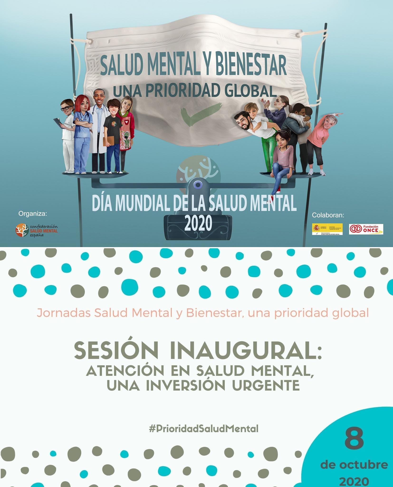Jornada Prioridad Salud Mental 8 octubre