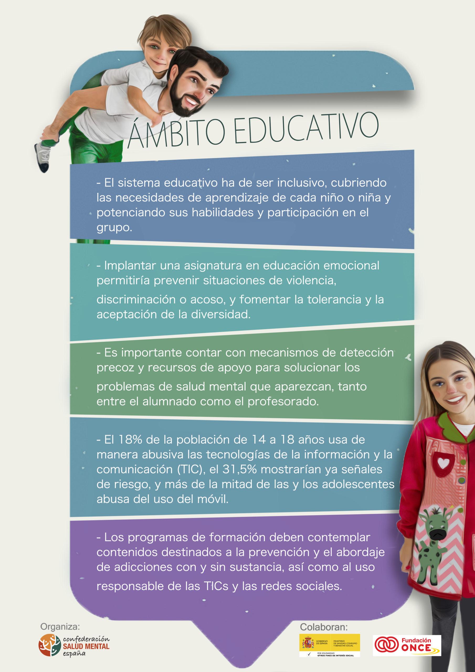 ámbito educativo