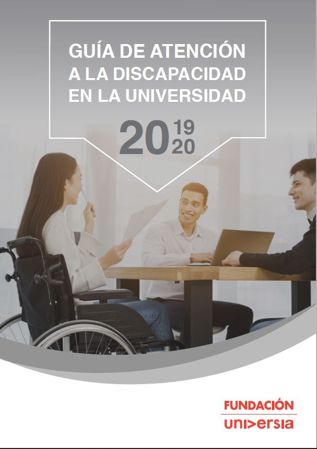 Portada atención discapacidad universidad 2020
