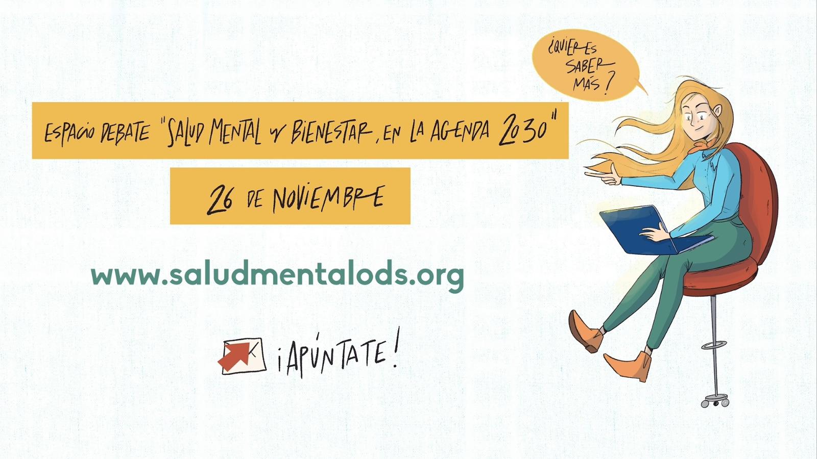 Jornada ODS salud mental bienestar