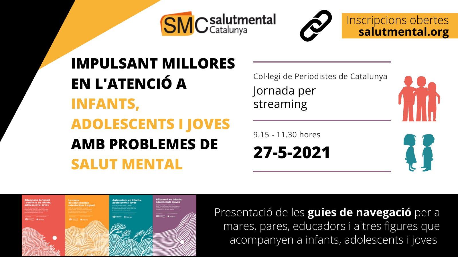 jornada salud mental infanto juvenil salut mental catalunya