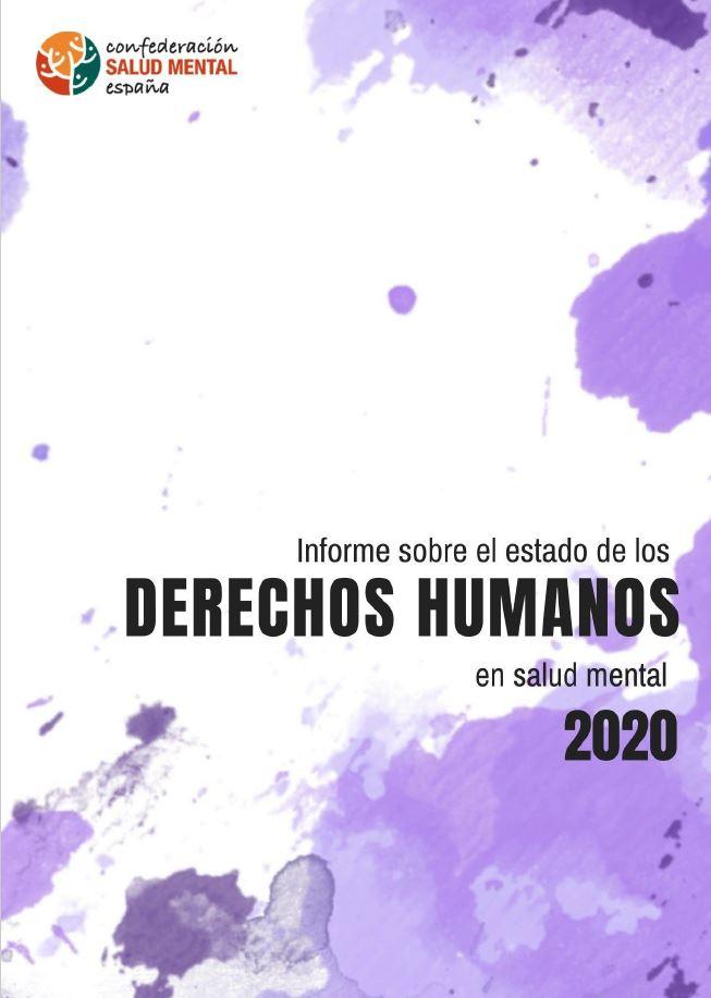 Portada Informe DDHH Salud Mental 2020