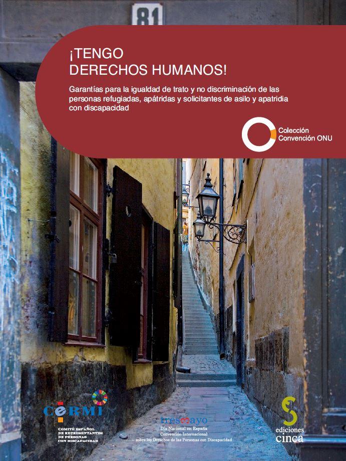 Portada Derechos Humanos Personas Refugiadas Discapacidad