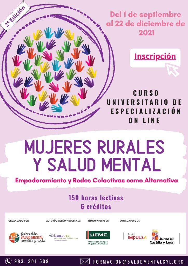 Curso Mujeres rurales salud mental