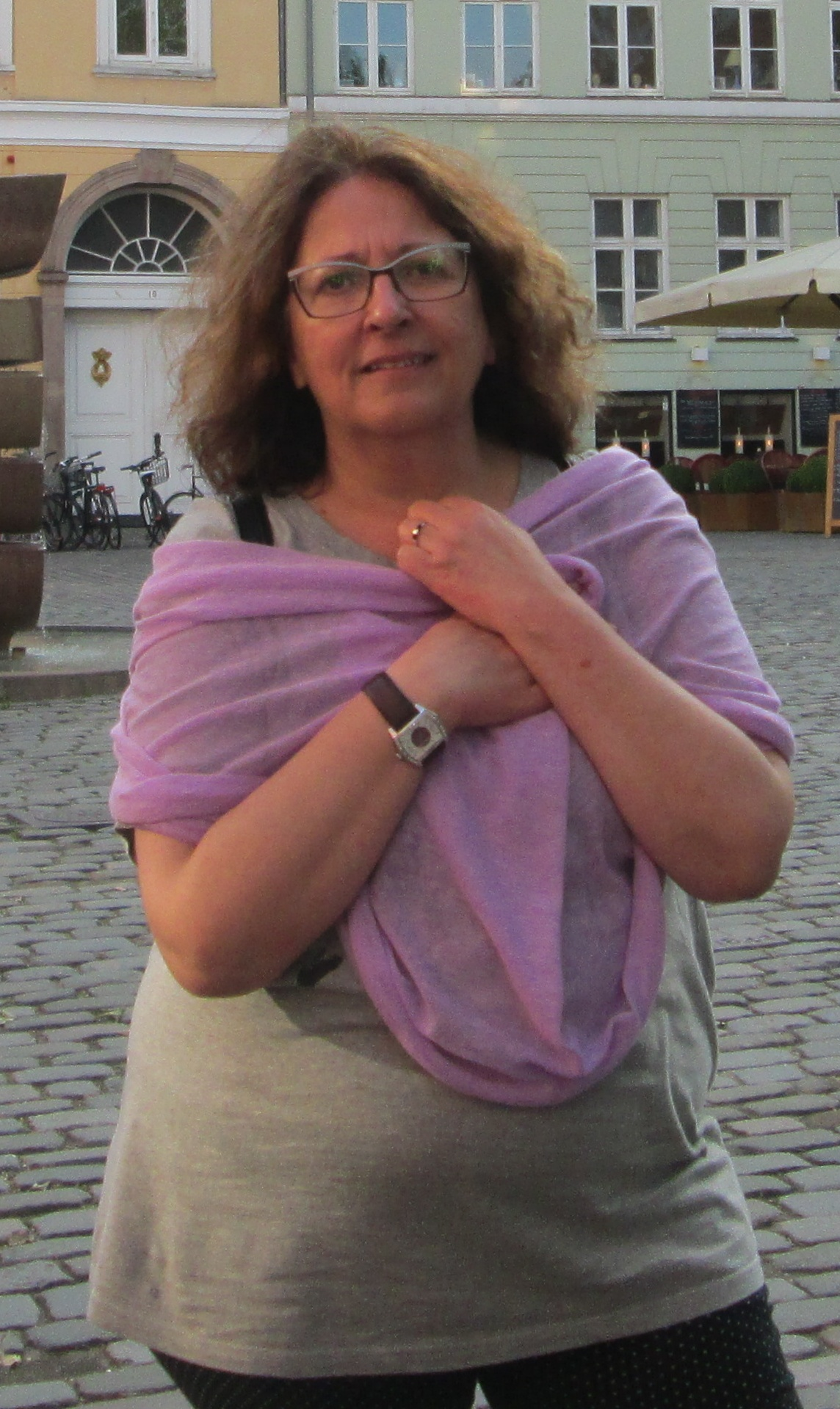 Isabel Quintairos, integrante de Saúde Mental FEAFES Galicia