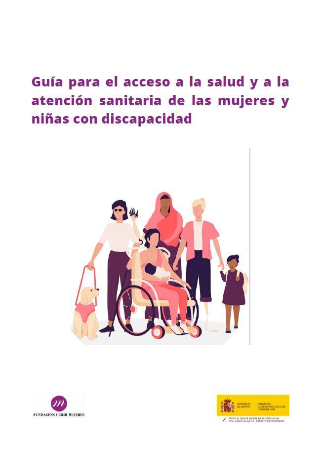 Portada Guia acceso salud atencion sanitaria mujeres discapacidad