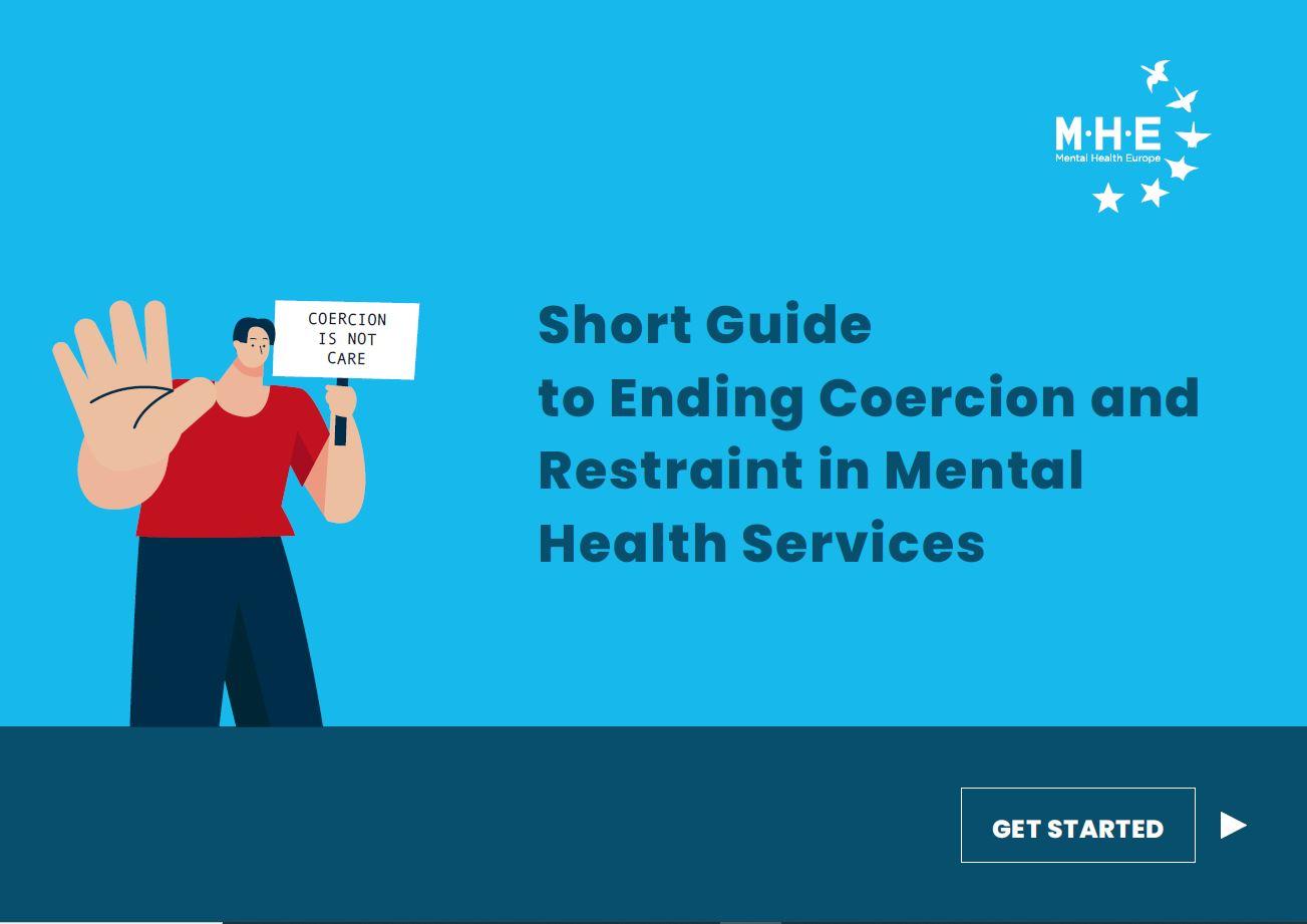 Portada Guide Ending Coercion Mental Health