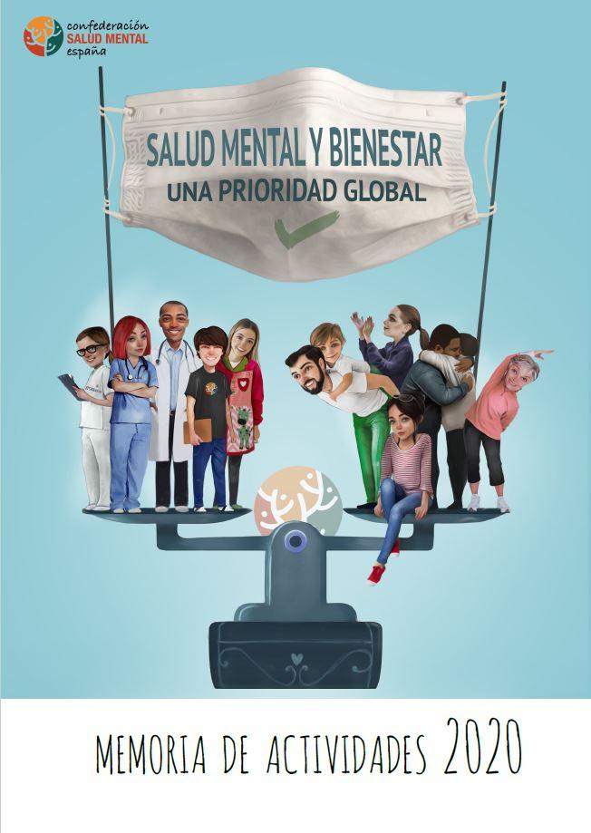 Portada Memoria Salud Mental 2020