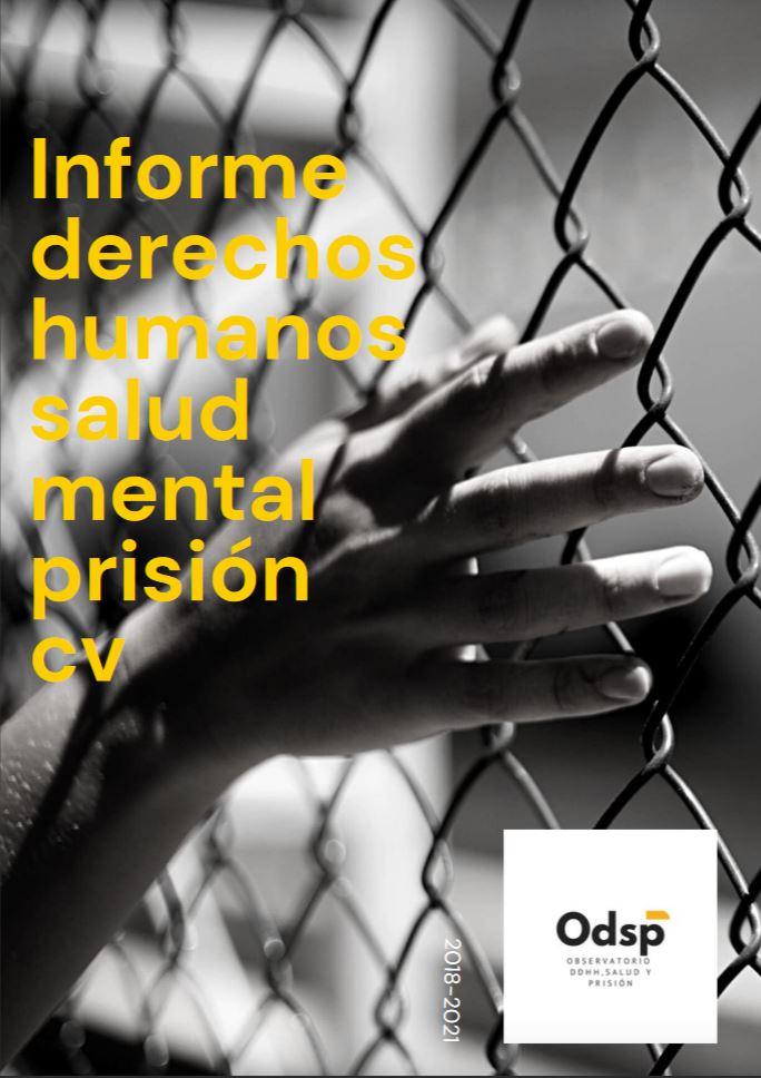 Portada Informe Derechos Humanos Salud Mental Prisión