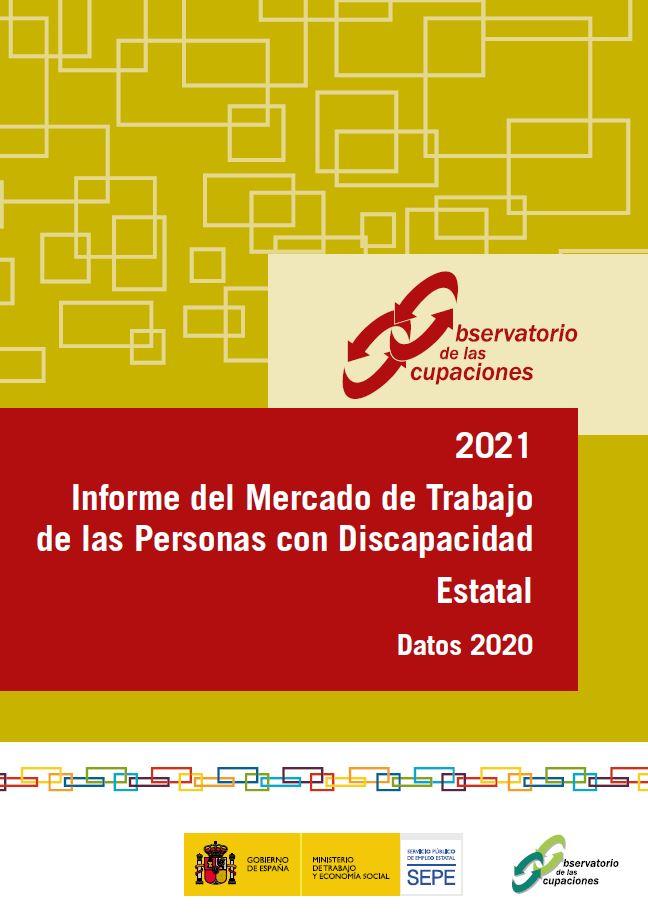 Portada Informe Mercado trabajo personas con discapacidad 2021