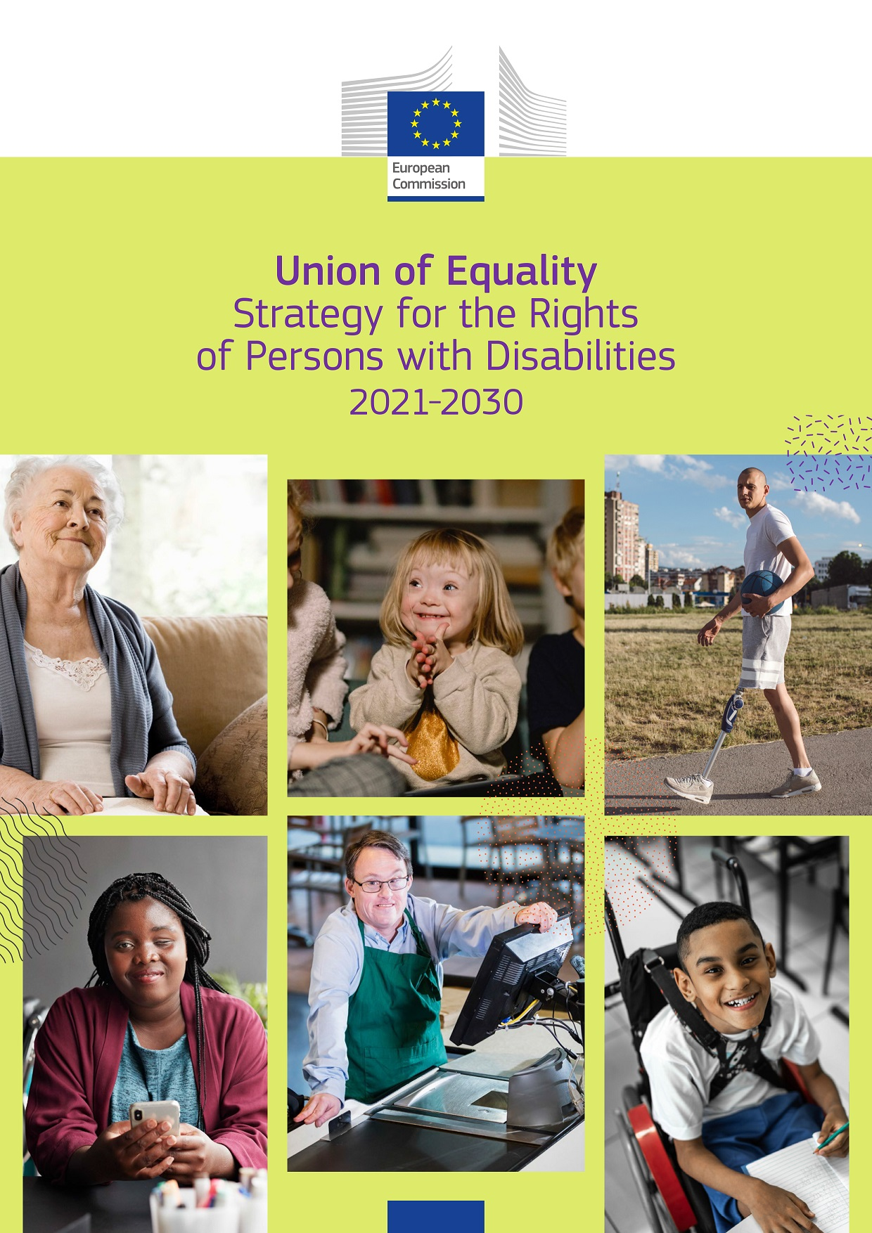 Portada Estrategia Derechos Personas Discapacidad
