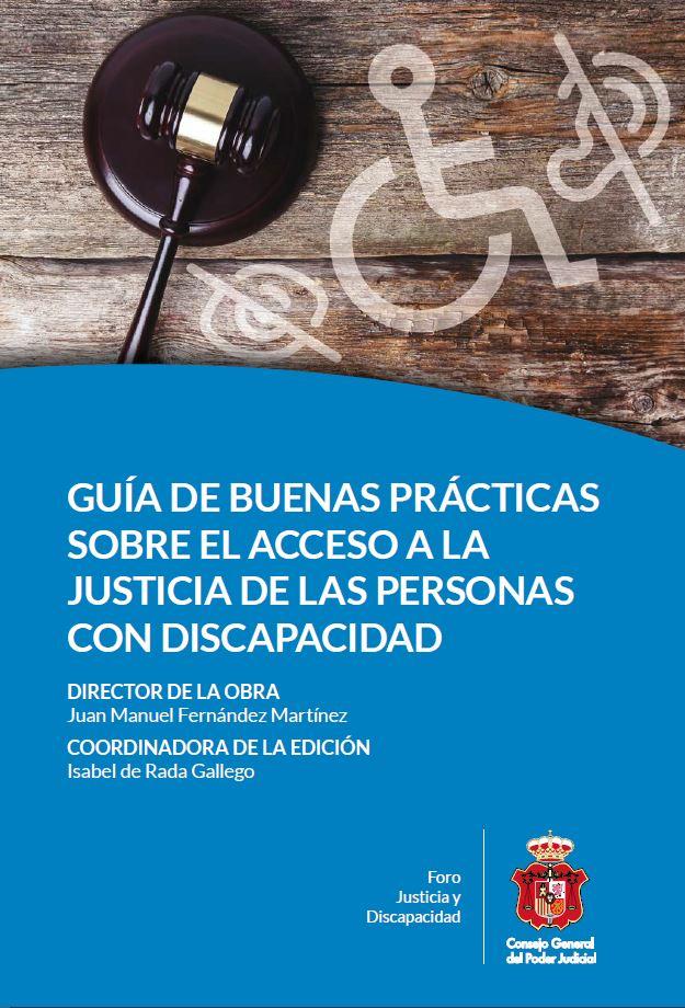Portada Guia Buenas Prácticas Acceso Justicia Personas con discapacidad